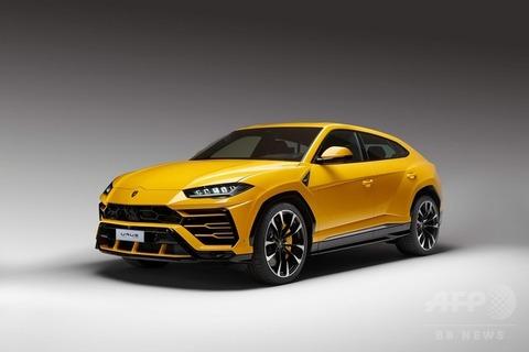 【車】ランボルギーニ、スーパーSUV「ウルス」発表 最高時速305キロ 3.6秒で時速100キロまで加速 お値段2300万円