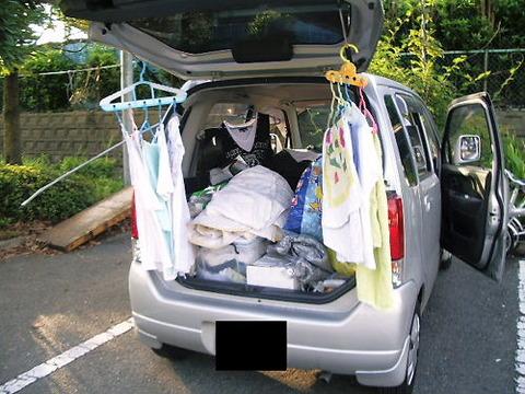 軽ワゴンで車中泊旅行するんだけどあると便利なもの書いていこうよ