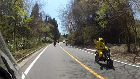バイク乗りのヤエーとかいう風習