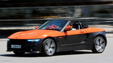 ロシア車メーカー、120万円の「スポーツカー」発売へ