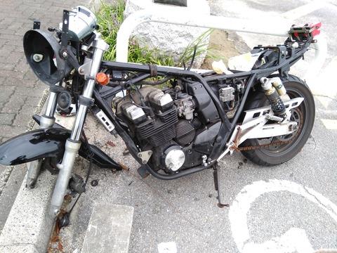 タダでバイク貰った
