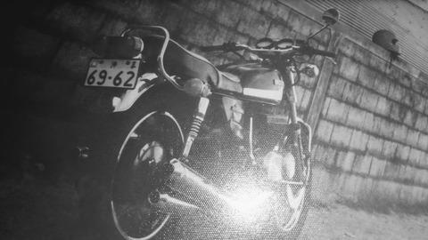 バイクに乗るきっかけは少年チャンピオンで連載された750ライダー