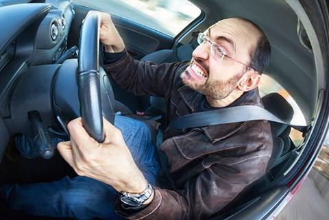 車の運転すると同乗者に「怖い」と言われる