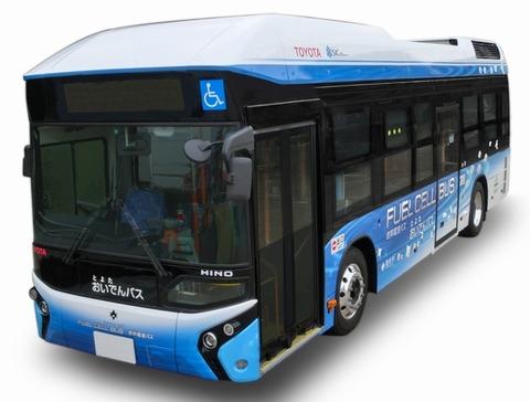 【エコ】「水素社会の実現」2020年東京五輪に向け燃料電池バス試験走行 東京都交通局