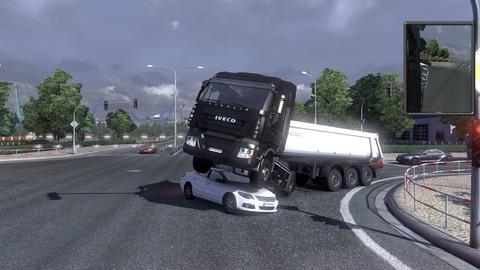 大型トラックを安全運転するゲームってどう?