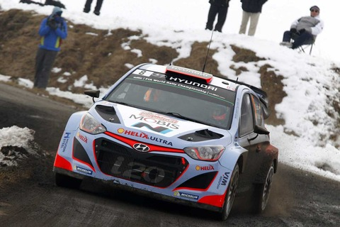 WRC ヒュンダイが連勝街道 ヒュンダイに負けるトヨタ・・・
