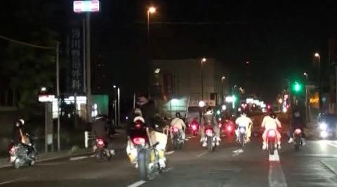 【社会】「夜景を見にいくため」バイクで30キロ集団暴走、15~19歳少年ら21人摘発 大阪府警
