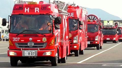 3大緊急車両 パトカー、救急車、KEYENCEプロボックス あと1つは?
