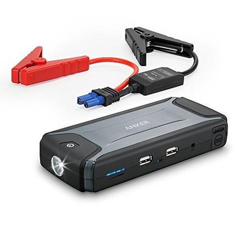 車のバッテリー始動にも使うことが出来る超便利なモバイルバッテリーが登場!