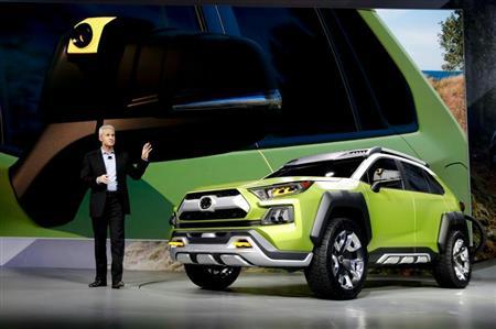 【自動車】トヨタ、SUVコンセプトカー「FT-AC」公開 幅広タイヤでオフロードに自信