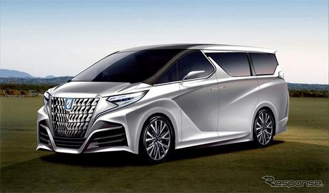 【悲報】日本を代表する高級車アルファード、マイナーチェンジのコンセプトデザインがやばい