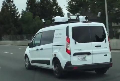 【IT】Apple版のストリートビュー撮影車、日本でも開始 東京・千葉で目撃の可能性