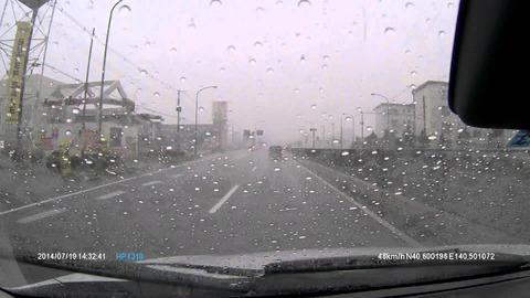 大雨の中ドライブに出掛けて駐車場に止めて車の中ですやすや眠るの楽しすぎワロッタwwwwwwwwwwwwwwwwwwwwww