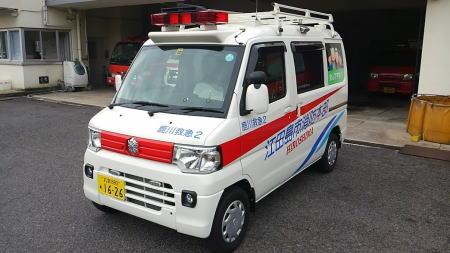 【奈良】狭い道路もスイスイ…軽自動車タイプの救急車 「山間部での事故対応には欠かせない存在」