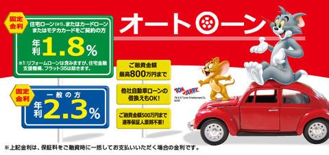 車のローン金利が2~3%台ってことは、車は絶対ローンで買った方がいいな
