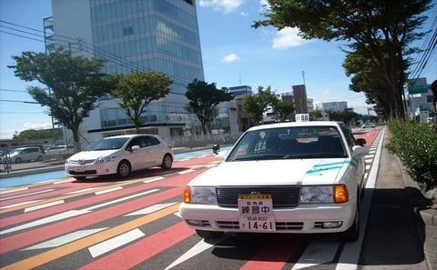 路上教習で直進中ワイ「頼む!車の左側ぶつからないでくれ!!!」