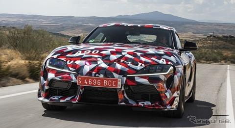トヨタ新型スープラ発表wwなんだよこのカラー・・・だから日本車は・・