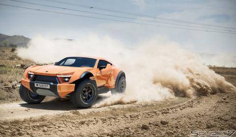 これに勝てる日本車はある? かアラブのスーパーSUV「サンドレーサー」がスゴい…5000万円超