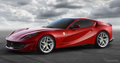フェラーリの販売台数が過去最高を更新!日本での爆売れが要因か?