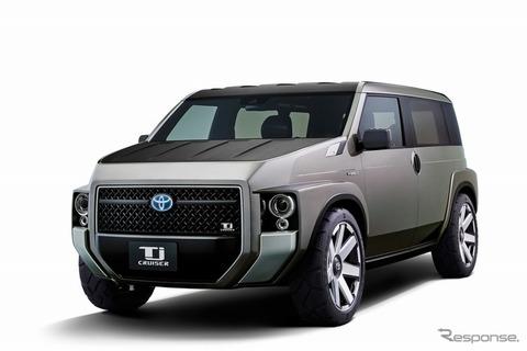 トヨタ Tjクルーザー、世界初公開へ…VANの積載性能とSUVの力強いデザインを融合