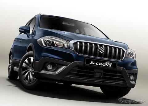 スズキの新型SUV『SX4 Sクロス』 6ATと5/6MTを選択可 1.4リッターダウンサイジングターボエンジン