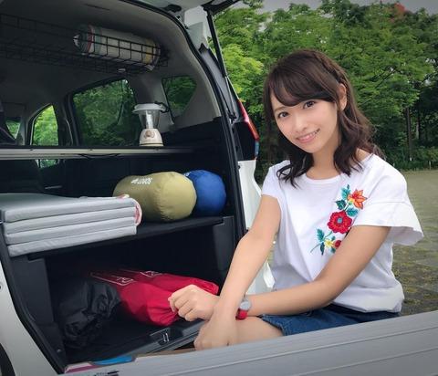20歳♀がぼっちで車中泊
