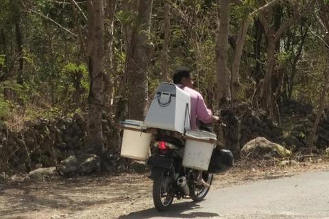 三菱電機が「バイクに冷蔵庫」。途上国で貧困・富裕層、2つのニーズを満たす