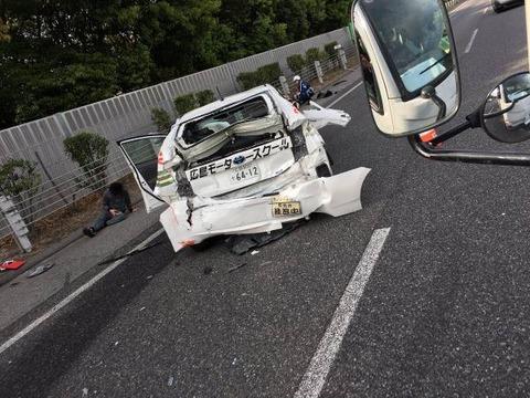 教習車を煽りまくった結果wwwwwwwwwwwwwwwww