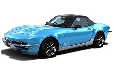 【自動車】光岡、新型オープンカー「Rock Star(ロックスター)」を発売 60年代アメ車風デザイン