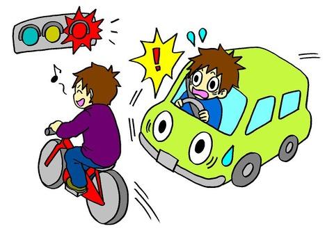 歩行者が信号無視して車で引いたらなんで車が悪いの?