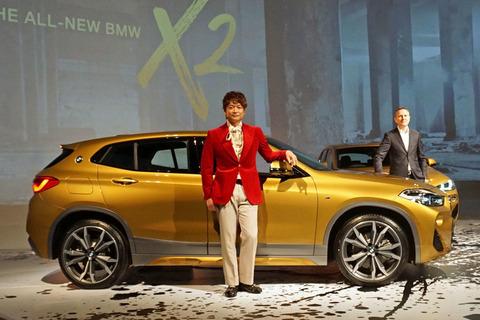 【自動車】BMWの新型SUV「X2」が日本デビュー