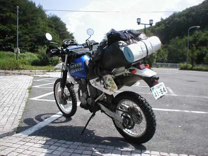バイクは荷物が全然積めないってマジ?