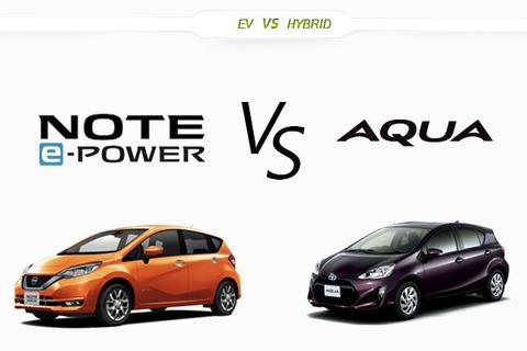 【クルマ】日産 新型ノート e-POWERはガチライバルのアクアに勝てるのか?徹底比較