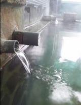 内湯はダブル混合泉