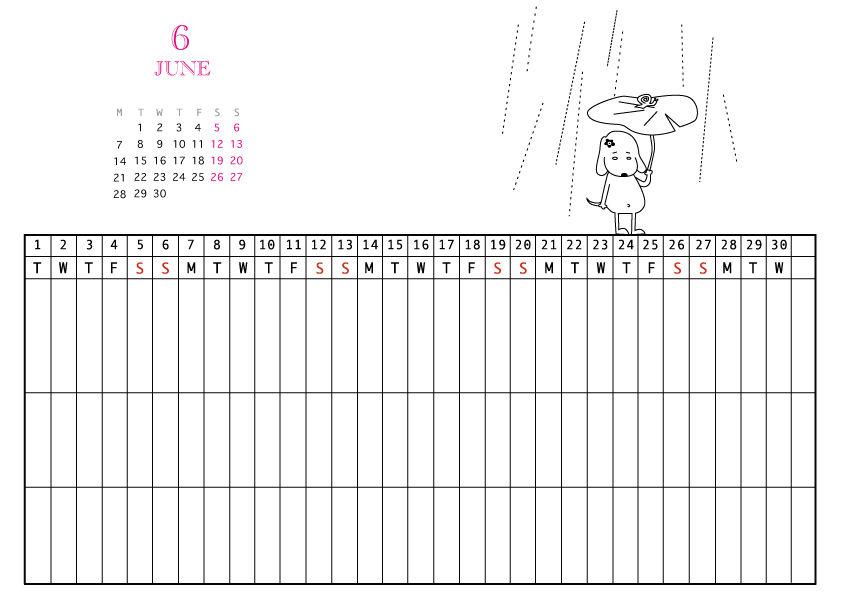 家族カレンダー無料ダウンロード|エクセル版で1 …