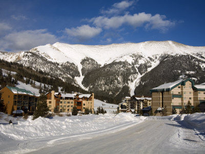 Rocky Mountains ski resort