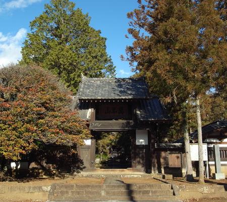 大泉寺・総門
