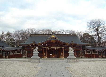 諏訪神社・立川1