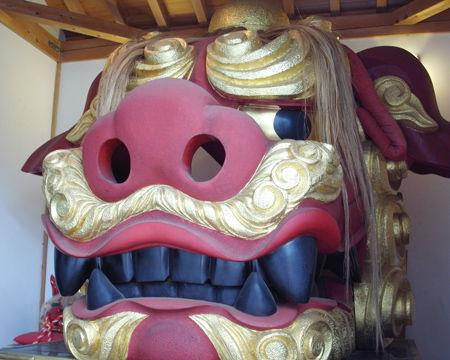 波除稲荷神社・お歯黒獅子