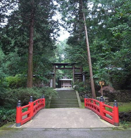 金鑚神社・義家橋