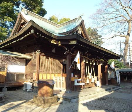 氷川神社・鳩ヶ谷2