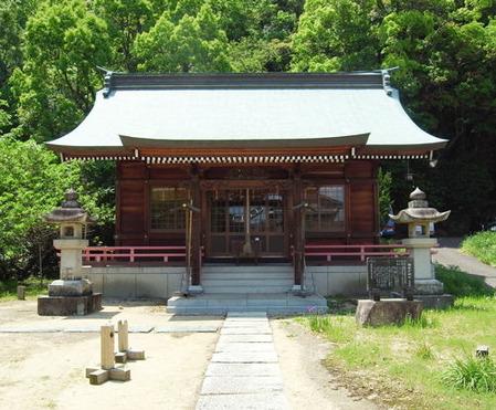 国瑞彦神社・拝殿