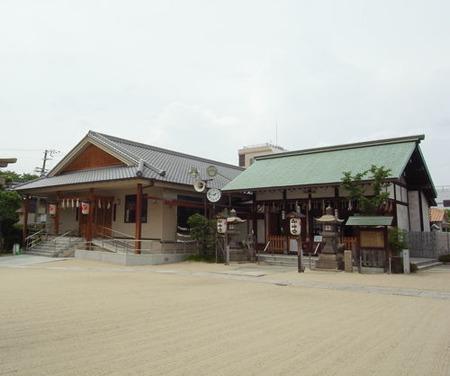 都島神社・境内