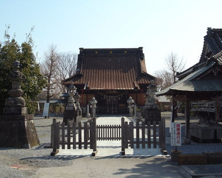栃木神明社社殿