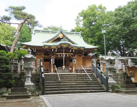 大鷲神社・花畑1
