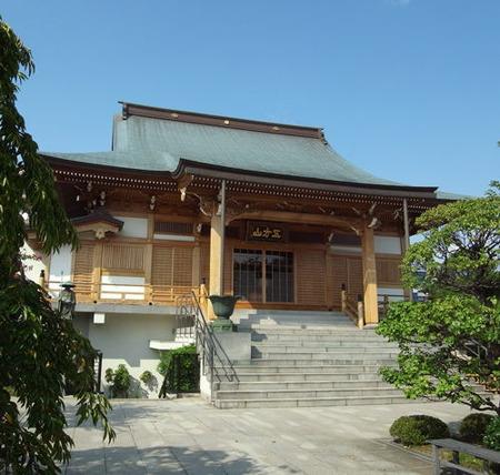 南蔵院・本堂