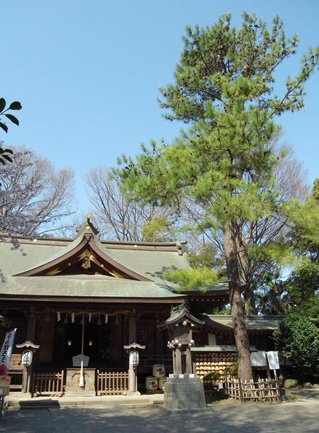 前鳥神社・相模