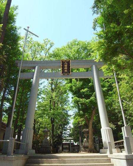 八幡神社・荻窪2