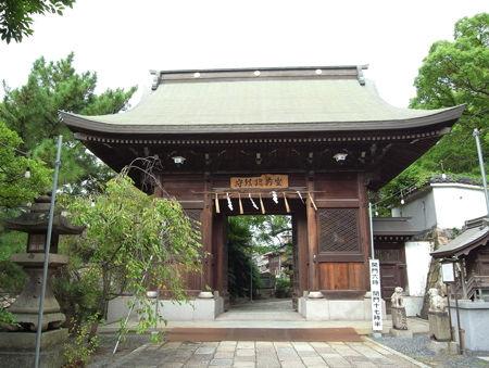 小倉八坂神社・随身門