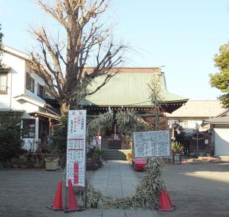 氷川神社・江北27年4